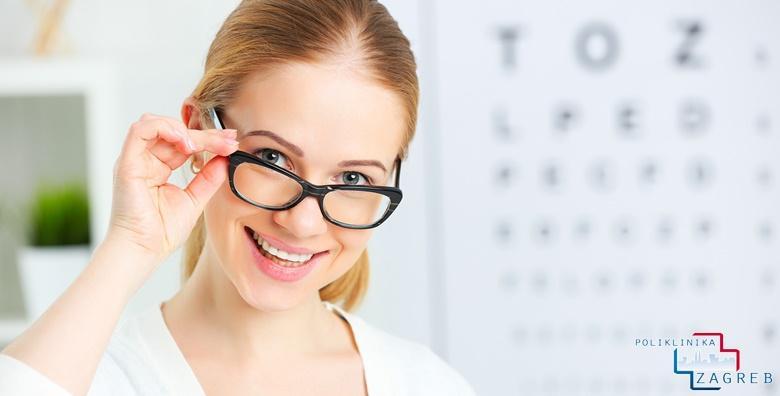 Kompletan oftalmološki pregled uz mjerenje očnog tlaka, određivanje dioptrije, širenje zjenica i pregled biomikroskopom za 199 kn!
