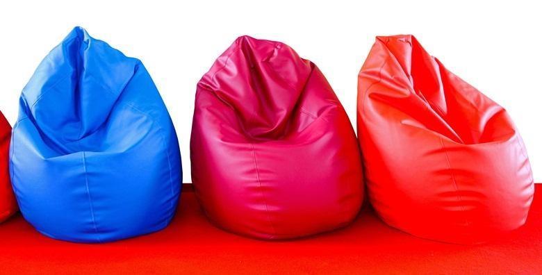 Vreća za sjedenje Lazy bag - vrhunac zaigranosti u dizajnu interijera i originalan poklon za sve generacije od 155 kn!