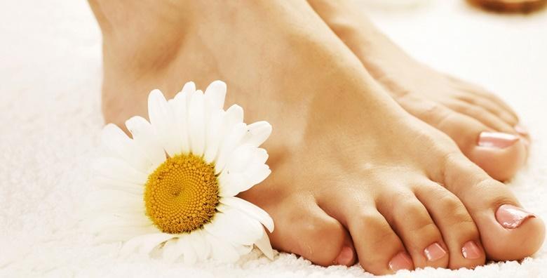 Estetska pedikura uz soak off trajni lak - kompletni tretman za vaša stopala za 99 kn!