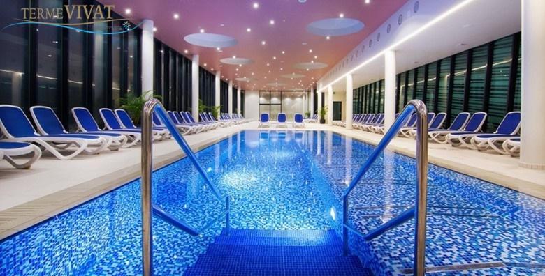 [MORAVSKE TOPLICE] Opuštanje za dvoje u Termama Vivat**** - 2 noćenja s polupansionom uz neograničeno korištenje bazena i saune za 1.775 kn!