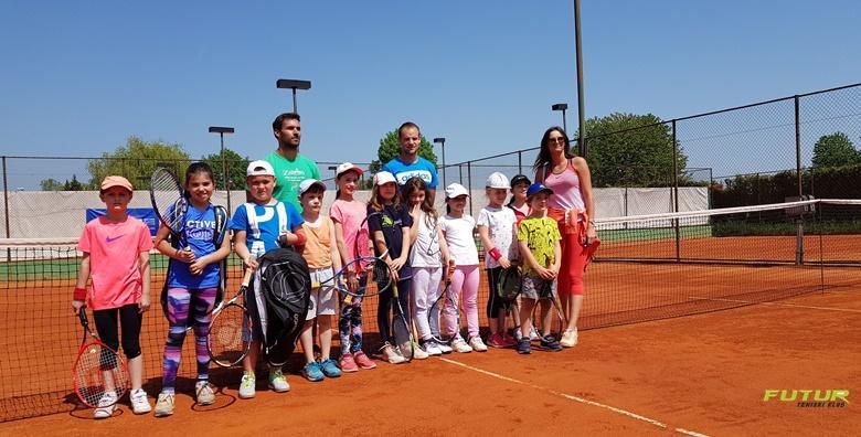 [TENIS] Škola tenisa za sve uzraste - mjesec dana treninga s vrhunskim trenerima na čak 5 lokacija u gradu već od 90 kn!