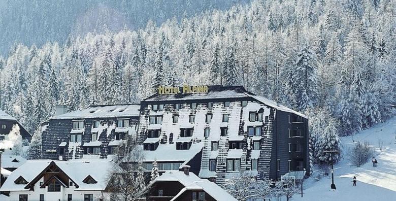 [KRANJSKA GORA] Odmor u srcu Julijskih Alpi! 2 noćenja s doručkom ili polupansionom u Hotelu Alpina*** na samom skijalištu od 958 kn!
