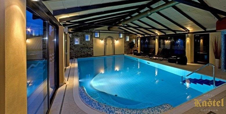 [MOTOVUN] Wellness u srcu Istre - 2 noćenja s doručkom za dvoje u Hotelu Kaštel*** smještenom u palači iz 17. stoljeća uz korištenje bazena za 899 kn!