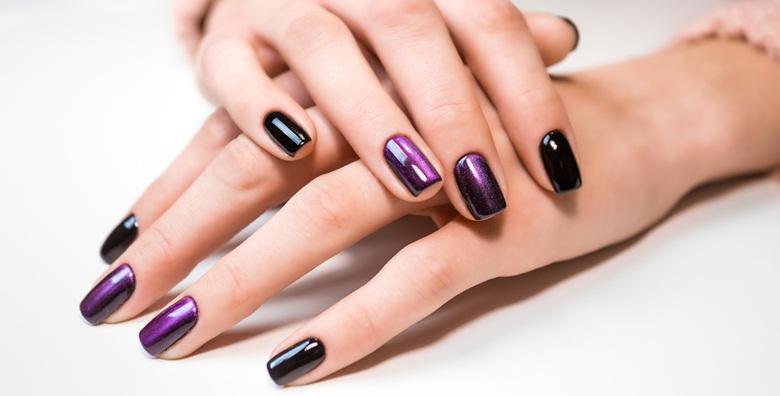 Trajni lak i manikura ili geliranje prirodnih noktiju - izaberite najdražu boju i uživajte u lijepim noktima već od 79 kn!