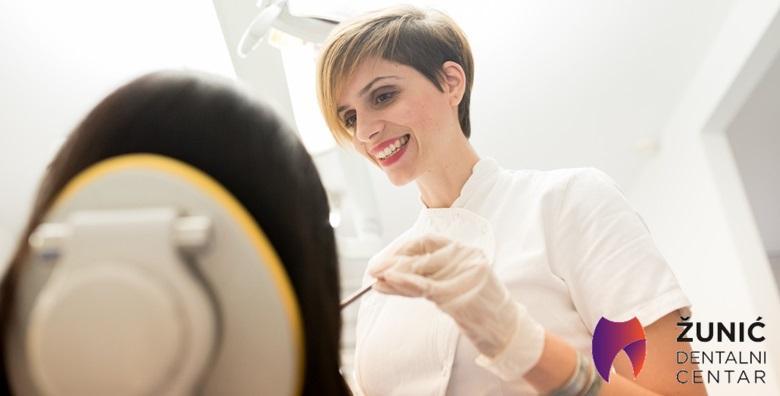 Zdravi zubi znače lijep osmijeh, osigurajte svoj u Dentalnom centru Žunić!Čišćenje kamenca, poliranje, pjeskarenje i pregled za samo 99 kn!