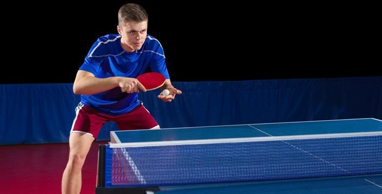 Stolni tenis - najam prostora i opreme za ukupno 8 sati igranja u centru grada za 149 kn!