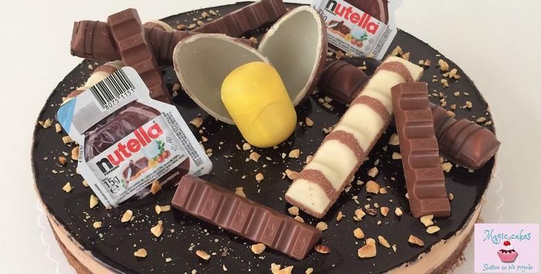 [ČOKO BOMBA] Ferrero torta - neodoljiva kombinacija čokolade i lješnjaka koja ostavlja bez teksta za 199 kn!
