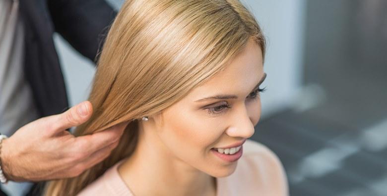 Šišanje, fen frizura i ampula keratina u salonu Hair Couture