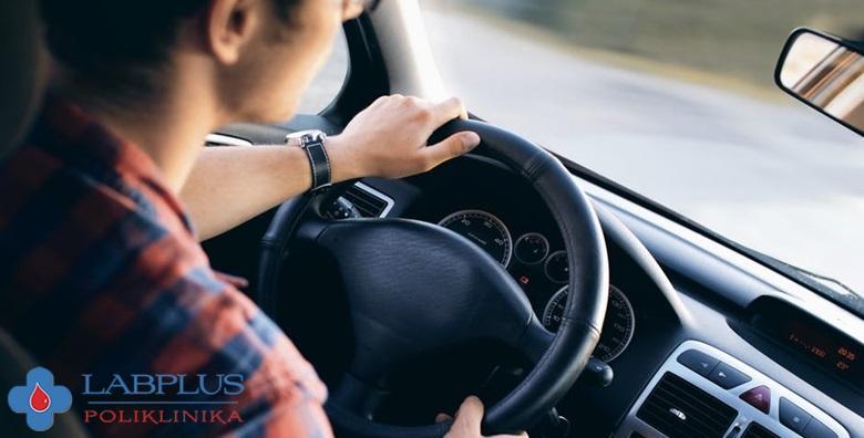 Liječnički pregled za profesionalnu vozačku dozvolu za 349 kn!