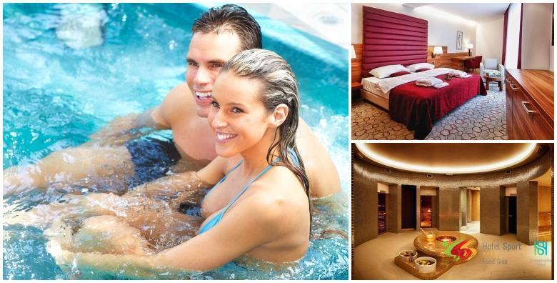 Wellness u Hotelu Sport**** - 1 noćenje s doručkom za dvoje uz masažu u paru od 493 kn!