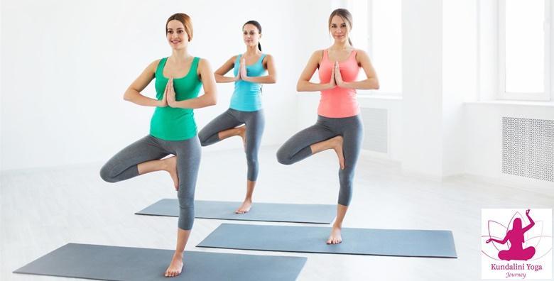 Kundalini joga - 2 ili 3 puta tjedno u mjesec dana već od 115 kn!