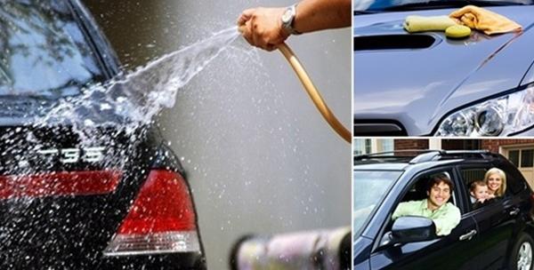 Kompletno pranje automobila, premaz voskom, poliranje farova