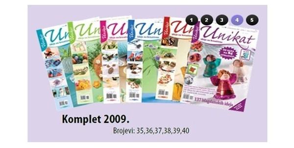 Časopis Unikat, komplet po izboru ili knjiga Decoupage Vegor - slika 2