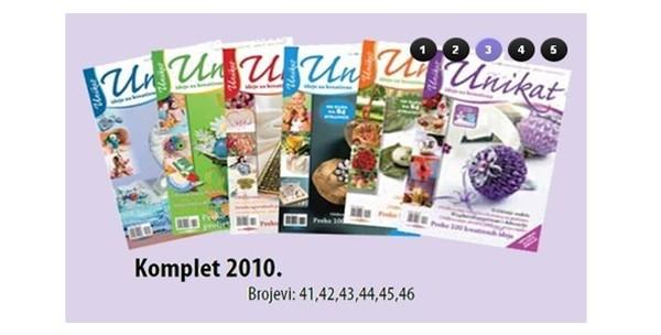 Časopis Unikat, komplet po izboru ili knjiga Decoupage Vegor - slika 3