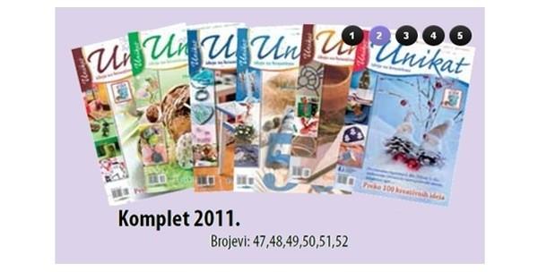 Časopis Unikat, komplet po izboru ili knjiga Decoupage Vegor - slika 4