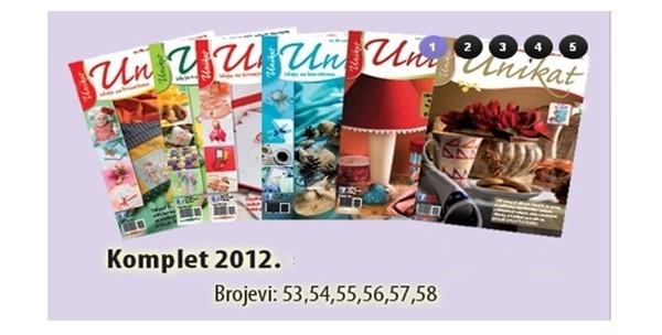 Časopis Unikat, komplet po izboru ili knjiga Decoupage Vegor - slika 5