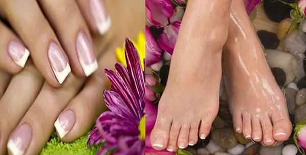 Geliranje noktiju na rukama ili nogama